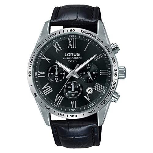 Lorus Quarz Uhr mit Leder Armband RT385FX9