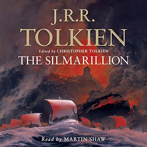 The Silmarillion                   By:                                                                                                                                 J. R. R. Tolkien                               Narrated by:                                                                                                                                 Martin Shaw                      Length: 14 hrs and 49 mins     917 ratings     Overall 4.5