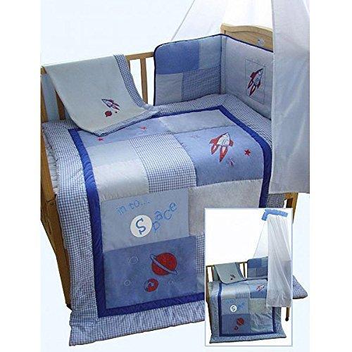 Snuggle Baby Space Parure de lit 5 pièces couette 4 TOG, lit bébé/Lit bébé lit