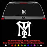 Tony Montana Scarface Gangster Die Cut Vinyl Decal Sticker for Car Truck Motorcycle Vehicle Window Bumper Wall Decor Laptop Helmet Size- [6 inch] / [15 cm] Tall || Color- Gloss White