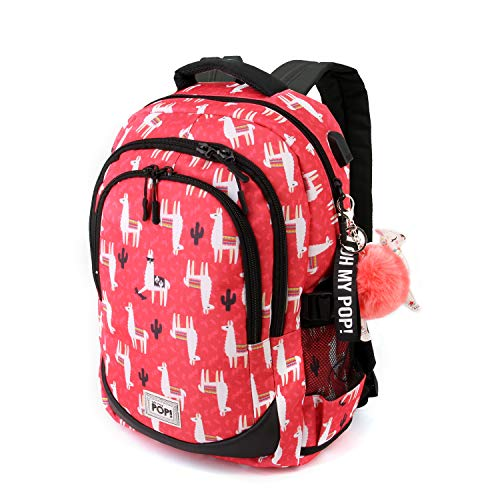 Oh My Pop! Oh My Pop! Cuzco-Running HS Rucksack Mochila Tipo Casual 44 Centimeters 21 Multicolor (Multicolour)