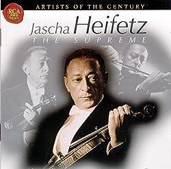 Jascha Heifetz, The Supreme - Concertos pour violon