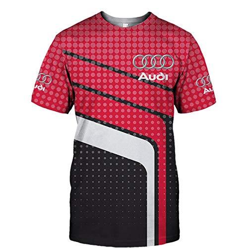 LEILIANG Herren Hoodies Jacke für Audi 3D-Druck Hoodie Pullover Sweatshirt Fan Jersey Sportswear Top C- L