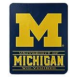 Northwest NCAA Michigan Wolverines 50x60 Fleece Control DesignBlanket, Team Colors, One Size