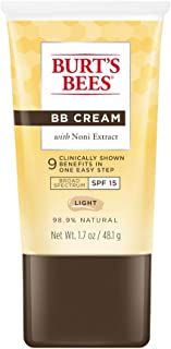 Burt's Bees BB Cream with SPF 15, Light, 1.7 Ounces