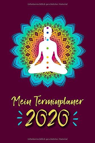 Mein Terminplaner 2020: Mein Terminplaner 2020 mit Seitenweise Leben | Terminplaner | Wochenkalender | Monatskalender für 2020 im praktischen Taschenformat | Motiv Mandala