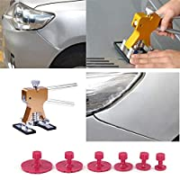 10pcs Puller Pad Car Body Paintless Dent Hail Glue Puller Tabs Remover Pad Automobile Repair Tools Set