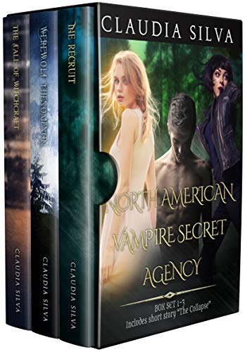 North American Vampire Secret Agency Box Set 1 (Books 1-3 & Short Story) (English Edition)