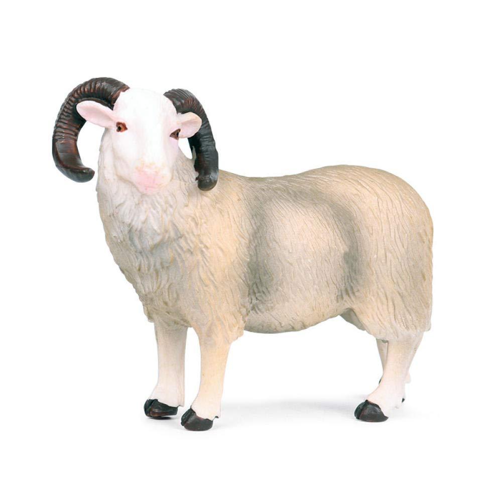 PHJK Animales para jardín Estatuas para jardín Modelo de Oveja Animal Artificial: Amazon.es: Hogar