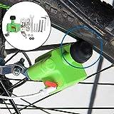 DAUERHAFT Protección del Medio Ambiente Generador de Bicicletas Componentes electrónicos duraderos Material Generador de Bicicletas eléctricas, para Ciclismo de Larga Distancia