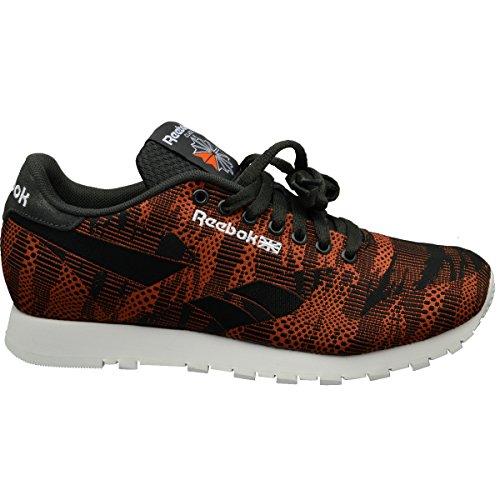 Reebok Classic Runner Jacquard TC Schuhe Sneaker Turnschuhe Orange V67889, Größenauswahl:40