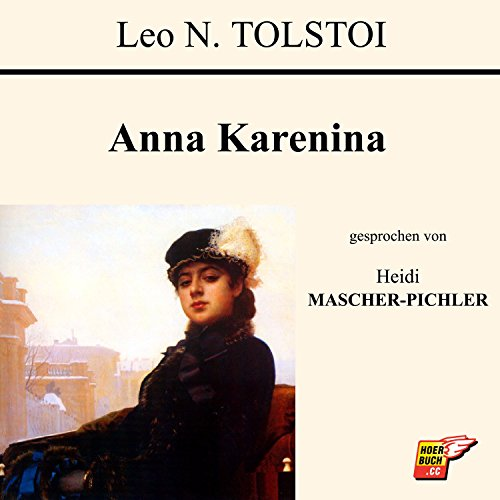 Anna Karenina audiobook cover art