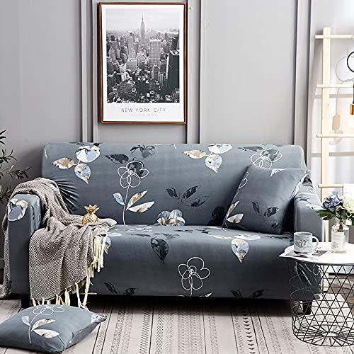 Funda de sofá elástica Funda de sofá Universal Suave Funda de sofá para decoración de Sala de Estar Funda de sofá Caliente Estilo decoración del hogar A29 2 plazas