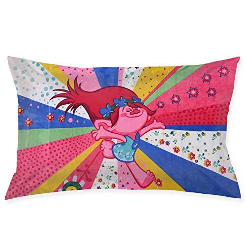 Tr-olls - Federa per cuscino in morbido pellet, per divano, camera da letto, 50,8 x 76,2 cm
