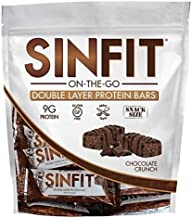 Sinister Labs Sinfit Bar 15x101g Chocolate Crunch Estimated Price : £ 15,99