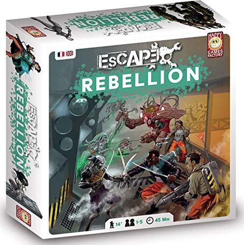 Escape 2.0 - Rebellion - Brettspiel mit Figuren