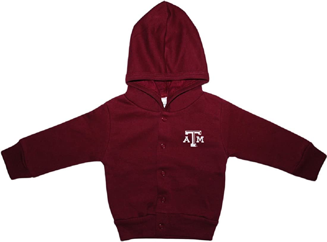 Texas A/&M University Aggies Baby and Toddler Snap Hooded Jacket