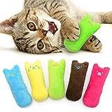 AnCoSoo Spielzeug mit Katzenminze, Katzenspielzeug Set aus Katzenkissen mit...