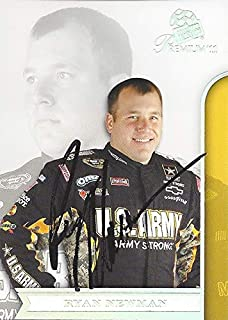 AUTOGRAPHED Ryan Newman 2011 Press Pass Premium Racing CONTENDERS (#39 U.S. ARMY Team) Stewart-Haas Chevrolet Signed NASCAR Collectible Trading Card with COA