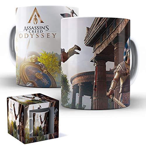Caneca de Porcelana com Caixinha Presente Assassin's Creed Odyssey mod.47