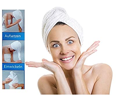 Microfibra toalla de cabeza