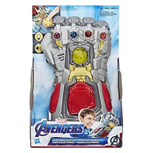 Marvel Avengers: Endgame elektronischer Handschuh Rollenspiel Spielzeug mit Lichtern und Sounds für Kinder ab 5 Jahren