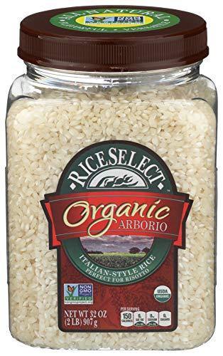 RiceSelect Organic Arborio Rice - 32 Oz Jar