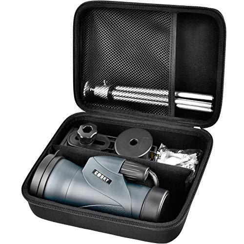 Tasche für fernrohr monokular, fernglas mit nachtsicht, fernrohr teleskophalter für Gosky/innislink Monokulare Teleskope herausnehmbare Trenn- Schwarz