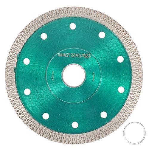 NITRIP ミニルーター 鋸刃 ダイヤモンド 硬度 耐摩耗性 耐久性 磁器、花崗岩、大理石、セラミックタイルなど(125mm)