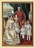Kunstdruck Kaiser Karl I de Austria con familia Otto von Habsburg K&K A2 91 enmarcada