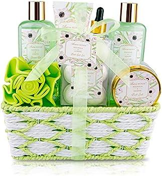 8-Pieces ArioseMonde Bath Spa Basket Gift Set