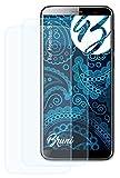 Bruni Schutzfolie kompatibel mit Homtom S7 Folie, glasklare Bildschirmschutzfolie (2X)
