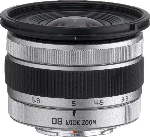 Pentax 22827 Systemkamera Weitwinkel-Zoomobjektiv Kameraobjektiv - Kameraobjektive (Systemkamera, 10/8, Weitwinkel-Zoomobjektiv, 0,25 m, Pentax Q, 3,8-3,9 mm)