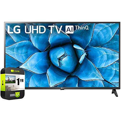 LG 55UN7300PUF 55 inch UHD 4K HDR AI Smart TV 2020 Model Bundle with 1 Year Extended Protection Plan. Buy it now for 609.99