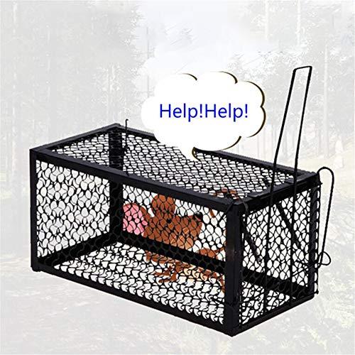 Rat Cage Muizen Knaagdier Animal Control Vang aas Hamster Muis Trap Humane Live Home Rat Killer Cage 2 Stks