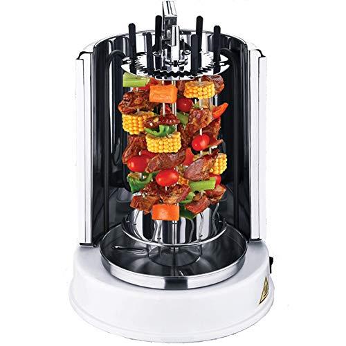 Verticale Grill, aanrecht Rotary Oven Volautomatische rotatie en gelijkmatige verwarming, Stainless Steel Design Smokeless Grill geschikt voor thuis