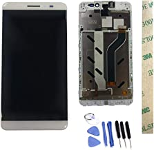 Dr.Chans LCD Display Screen Touch Digitizer Assembly Replacement with Free Tools for Coolpad Tiptop MAX A8-531 A8-930 A8-831 A8 White with Frame