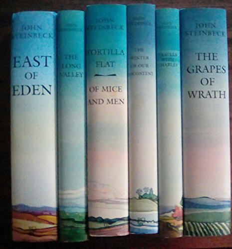 The Works of John Steinbeck (6 Volume Set)