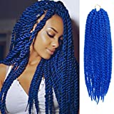 24 Inch 6 Packs AU-THEN-TIC 2X Jumbo Senegalese Twist Crochet Braid...
