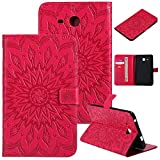 GHC Pad Etuis & Covers pour Samsung Galaxy Tab A6 7,0 Pouces, Couverture Antichoc rocheuse de Cuir...