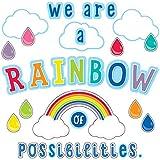 Schoolgirl Style - Hello Sunshine | We are a Rainbow of Possibilities Bulletin Board Set