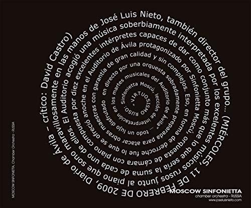 Moscow Sinfonietta Chamber Orchestra CD   José Luis Nieto piano