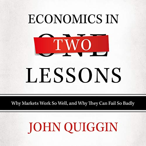 Economics in Two Lessons audiobook cover art