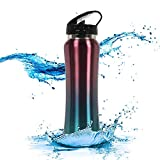 Tuelip Sports Stainless Steel Bottle for School Kids Girls & Boys,College,Gym 750 Ml