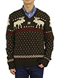 (ポロ ラルフローレン) POLO Ralph Lauren メンズ コットン リネン ノルディック柄 セーター 0102198 (L) 並行輸入品