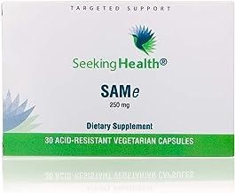 Sponsored Ad - Seeking Health | Same Supplement | 250 mg S-adenosyl-L-methionine | 30 Acid-Resistant Vegetarian Capsules