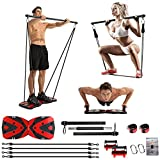 Portable Home Gym with Heavy...