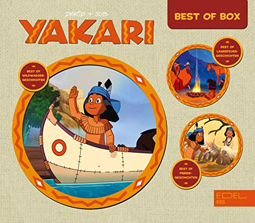 Yakari - Starter-Box Best Of - Die Original-Hörspiele zur TV-Serie