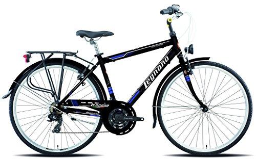 Legnano Ciclo 430 F Te dei Marmi, City Bike Uomo, Nero, 48