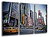 Cuadro Fotográfico New York, Ciudad Nueva York, Rascacielos Tamaño total: 97 x 62 cm XXL